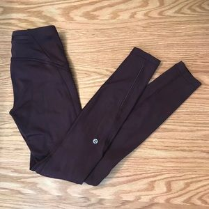 Lululemon Fast As Fleece Leggings